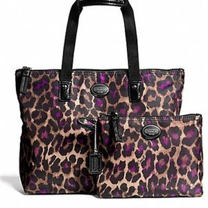 Coach Cheetah Tote Bag